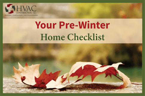 Pre Winter Home Improvement Projects